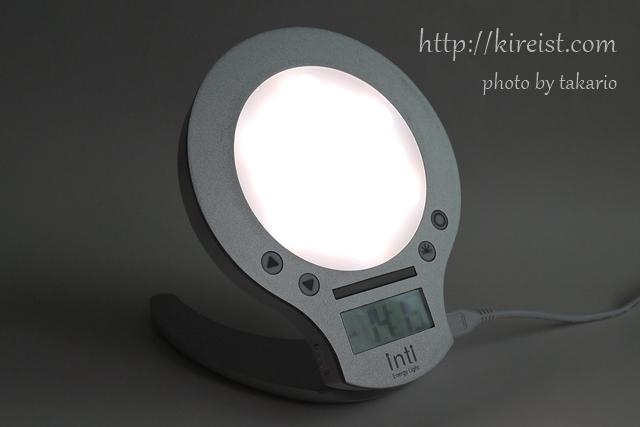 おすすめの光目覚まし時計inti4の効果を口コミ